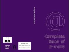 Complete Book of E-mails Video: Complete Book of E-mails by Lazaros' Blank Books. Store 800+ e-mail addresses in a safe place with this amazing blank book. YES! THIS BOOK IS ALL I NEED RIGHT …