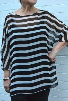 Zoe Top, Free Pattern. Use c's flower voile?