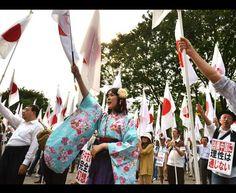 Isole #Senkaku, Tokyo in piazza contro Pechino