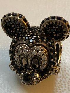 5b83f67e1 Disney Charms, Sparkling Mickey Charm, Disney #supplies @EtsyMktgTool  #sparklingmickey #mickeymousecharm