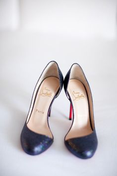 what's dark blue and sparkly all over... why these lovely Loubies  Photography by shannonleeimages.com