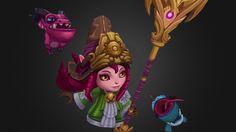 Dragon Trainer Lulu by maddytaylor