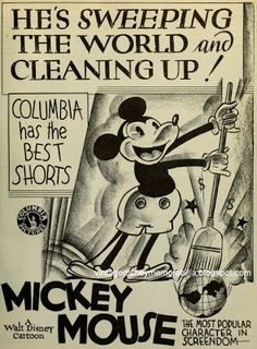 Two Strip Technicolor, Mickey Mouse deciding who lives and who dies. Minnie Mouse, Mickey Mouse Art, Classic Mickey Mouse, Mickey Mouse And Friends, Disney Mickey Mouse, Walt Disney, Disney Films, Disney Magic, Disney Art