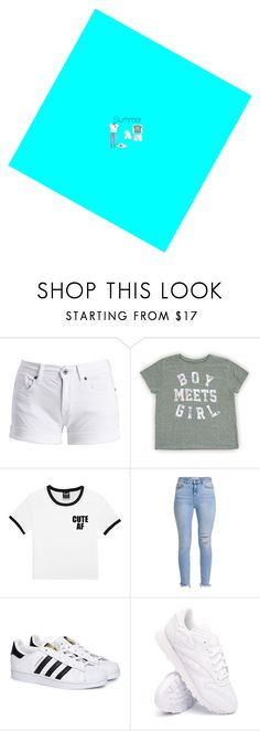 """summer"" by beautybyevelyn18 ❤ liked on Polyvore featuring Barbour International, adidas and Reebok"