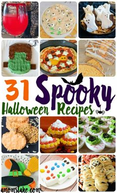 Spooky Halloween recipes to make any Halloween extra special. If you are looking for an easy and festive dinner or dessert, we have it covered.