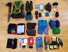 Alpenüberquerung Packliste von Christoph Herrmann, Autor von Salzburg-Triest Wanderführer. #alpen #packliste #alpenüberquerung