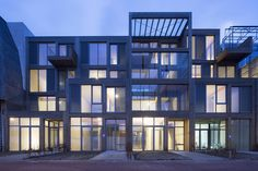 Duurzame houtlofts Buiksloterham - Architectuur.nl ANA architecten heeft in…