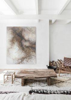 Wabi Sabi, Living Room Designs, Home Living Room, Casa Wabi, Slow Living, Hygge, Decoration, Room Decor, Interior Design