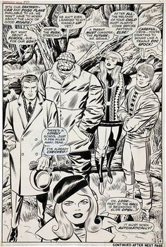 Jack Kirby, from Fantastic Four # 88