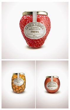 #marmellata a forma di #frutta