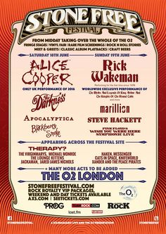 How about a festival featuring Alice Cooper, Blackberry Smoke, The Darkness, and acts likeJACKAMAN(recently featured here at Rock And Roll)and Marillion, as well as Rick Wakeman, on the same bil…