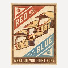 """RvB Limited Edition Art Print - DKNG (18"""" x 24"""") - LIMIT 1 PER CUSTOME 
