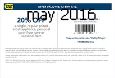 Best Buy coupons & Best Buy promo code inside The Coupons App. off a single small appliance at Best Buy, or online via promo code DoBigThings April Best Buy Coupons, Love Coupons, Free Printable Coupons, Free Printables, Dollar General Couponing, Coupons For Boyfriend, Coupon Stockpile, Grocery Coupons, Extreme Couponing