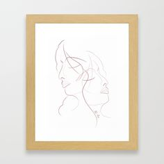 Authîel Minimalist Framed Art Print by weivy Art Prints For Home, Framed Art Prints, Minimalist Framed Art, Presents For Friends, Good Cause, Ivy, Gift Ideas, Gallery, Artist