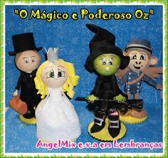 Kit Mágico e Poderoso Oz (4 bonecos)