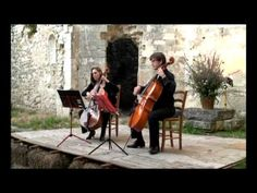 Duo Tutticelli: Joseph Bodin de Boismortier - Sonate II op.66   Gaiment - YouTube