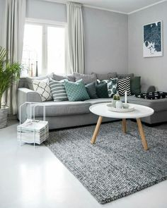 45 amazing gorgeous living room color schemes to make your room cozy 21 - Home Design Ideas Home Living Room, Apartment Living, Living Room Furniture, Living Room Decor, Living Room Tables, Rooms Home Decor, Living Room Carpet, Living Room Color Schemes, Living Room Designs