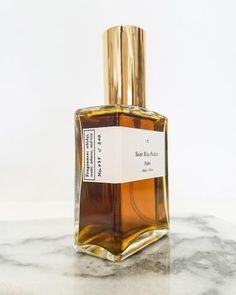 limited unisex fragrance comprised of over 18 rare and organic essential oils. handmade in small batches by Saint Rita Parlor in los angeles, california. notes: whiskey, tobacco, and rose 60 mL / 2 oz Perfume Logo, Perfume Scents, Perfume Bottles, Fragrances, Luxury Beauty, Diy Beauty, Organic Essential Oils, Bottle Design, Smell Good
