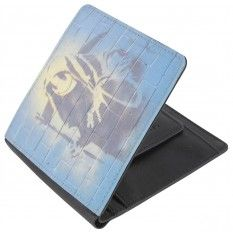 Mustard Reaper Wallet - Black/Blue