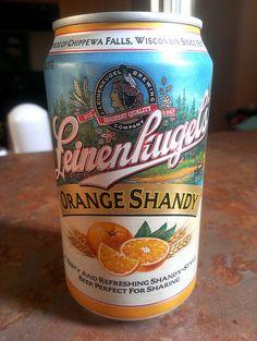 leinenkugel orange shandy - Our new favorite beer