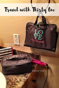 Keep your toiletries organized with Thirty One!