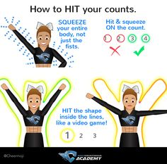 If you want to learn cheer dancing steps to be cheerleader, you're in the right place. FREE CHEER DANCE Guide: Learn to Be a Cheerleader! Learn the moves, the steps and routines to transform you into a cheer dance pro! Cheerleading Workouts, Cheer Tryouts, Cheer Coaches, Cheer Stunts, Cheer Dance, Cheerleading Hair, Cheer Athletics, Cheerleader Workout, Cheerleading Chants