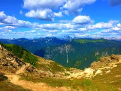 The PCT in Glacier Peak Wilderness.