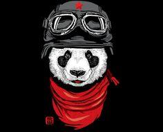 The Happiest Adventurer - Panda T-Shirt Design