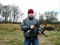 "Compact compound bow ""ШОРОХ""  -  ""RUSTLE""..компактный блочный лук - YouTube"