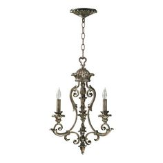 Found it at Wayfair - Barcelona 3 Light Chandelier in Mystic Silver