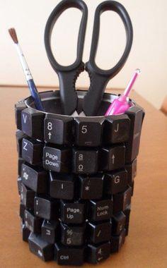 Tastatur Stiftehalter