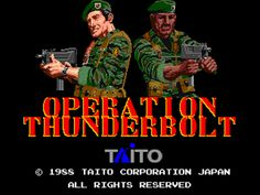 Retro Rewind: ABCs of Arcades: Operation Thunderbolt - http://30plusgamer.com/retro-rewind-abcs-of-arcades-operation-thunderbolt/