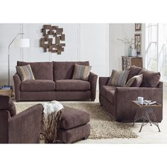 Visit Conn's HomePlus to shop our Living Room Furniture including our Maddie Living Room - Sofa & Loveseat - Chocolate Apply for our YES MONEY® credit and get approval in minutes. Living Room Sofa, Living Room Furniture, Loveseat Sofa, Couch, Dream Furniture, Sofa Sale, Affordable Sofas, Mattress, Love Seat