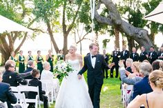 Elegant Outdoor Riverfront Ceremony | Gold, Black, White + Green Lowndes Grove Plantation Wedding by Charleston wedding photographer Dana Cubbage Weddings