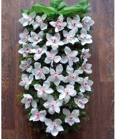 Funeral Bouquet, Wreaths, Plants, Door Wreaths, Deco Mesh Wreaths, Plant, Floral Arrangements, Garlands, Floral Wreath