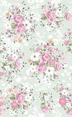 Wallpaper flowers vintage floral patterns pink roses 68 Ideas for 2019 Phone Wallpaper Pink, Flower Wallpaper, Pattern Wallpaper, Spring Wallpaper, Heart Wallpaper, Decoupage Vintage, Vintage Paper, Vintage Floral, Iphone Hintegründe
