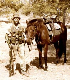 Grey's scouts - another special regiment in the RDF who relied on horses for back roads transport. This unit has been retained by the Zimbabwean military to the present day, unlike the Selous Scouts.