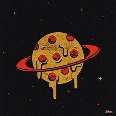 Pizza Planet - Sam Larson #Pizza #Design #PizzaOrDeath