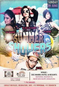 #summershowers