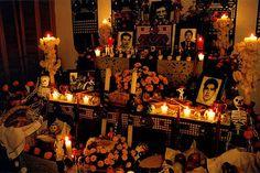 dia de los muertos altar - Google Search