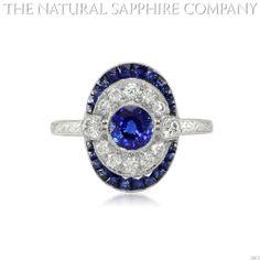 bluediamond rings | Beauty of Natural Blue Diamond Engagement Rings