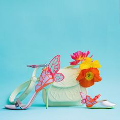 Sophia Webster Shoes, Butterfly Shoes, Mini One, Embellished Sandals, Candy Colors, Kid Shoes, About Uk, Fancy, Heels