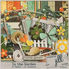 In The Garden #theStudio #digiscrap #freewithpurchase