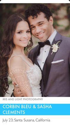 Corbin Bleu Wedding, Hair Wedding, Wedding Dresses, High School Musical, Light Photography, Wedding Hairstyles, People, Fashion, Moda