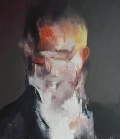 """""""Anger,"""" abstract portrait by artist Jesùs Leguizamo available at Saatchi Art: #portrait http://UpCycle.Club ∴ @upcycleclub"""