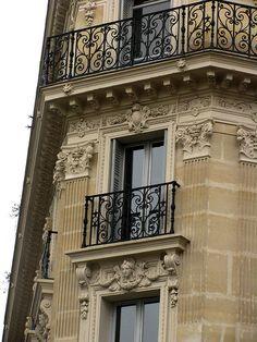 Balcony, Rue la Fayette, Paris