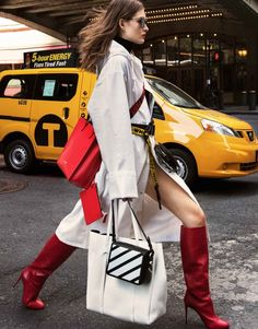 Grace Elizabeth heads to the streets for the October 5th, 2017 cover of The Edit from Net-a-Porter. Lensed by Sebastian Kim, the American beauty poses on the streets of New York City. Grace wears fashion forward looks from brand such as Off-White, Haider Ackermann and Vetements. Stylist Katie Mossman makes sure she stands out in... [Read More]