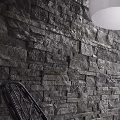 Muriva 3d Slate Brick Wallpaper Stone Neutral Textured