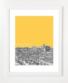 City Prints Iowa Whats Your