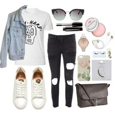 Try Hard Outfit by sam-isabella on Polyvore featuring American Apparel, Faith Connexion, H&M, Topshop, Neon Hart, Ted Baker, MANGO, Gorgeous Cosmetics, Forever 21 and Sephora Collection